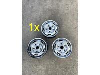 "1x 16"" TRANSIT MK7 steel wheel"