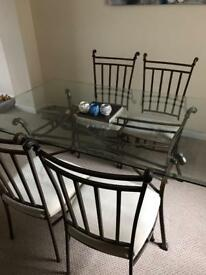 Large glass table (can deliver)