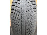 Winter Tyres. Nokian WR SUV3 XL. Set of four 255/50R19 107V XL. Excellent Condition