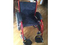 All Terrain Wheelchair with large mountain bike style wheels