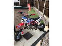 Road legal pit bike 160cc reg as 125cc