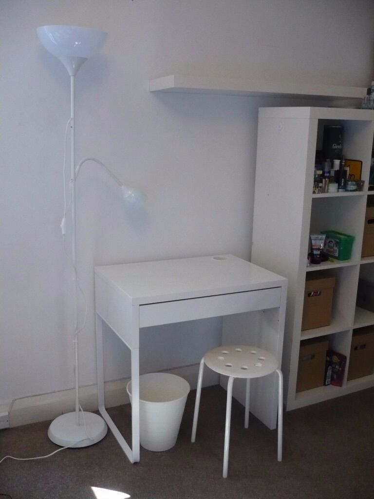 Ikea Student Room Furniture Not Lamp Micke Table