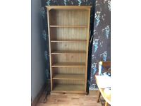 Bookcase Solid Wood