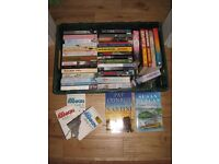 Large selection of very good quality/condition paperback books.
