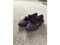 Next glitter shoes size 10