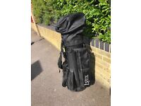 Set of Golf Clubs - Lynx Golf bag and Golf Clubs (with a few golf balls too!)