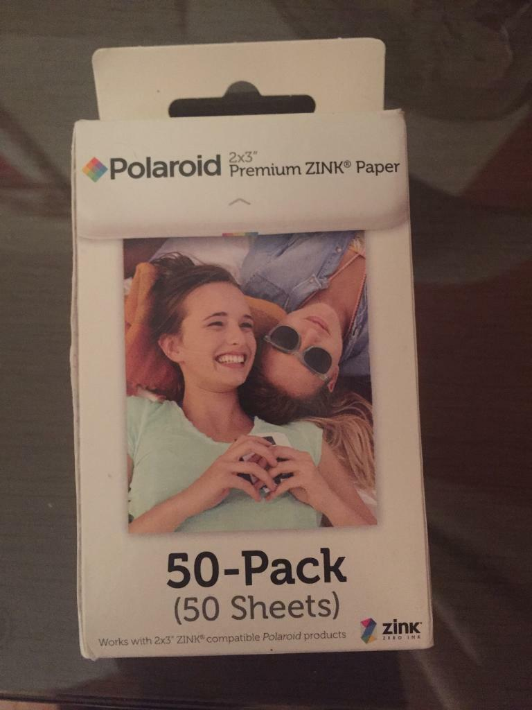 Polaroid 2x3 Inch Premium Zink Photo Paper Pack Of 50 In