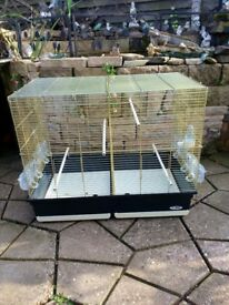 Large brass birdcage forsale