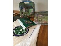 Wimbledon Memorabilia from 1999 including 2 Seat Pads and Programme