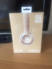 Dre Beats Solo2 Special Edition - Gold (brand new)