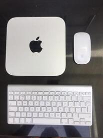 Mac Mini + Bluetooth Keyboard + Magic Mouse