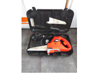 Black & Decker Scorpion Reciprocating Saw With Carry Case & Saw Blades