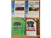 Excel and Java Books