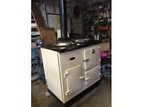 Esse Range Cooker - Oil Fired 2 Oven Cream - Spares or Repair - Not Aga