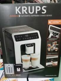 Krups Evidence EA893840 Automatic Espresso Bean to Cup Coffee Machine, Black