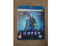 Looper blu-ray. In good working condition.