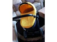 Oyster pram and pushchair