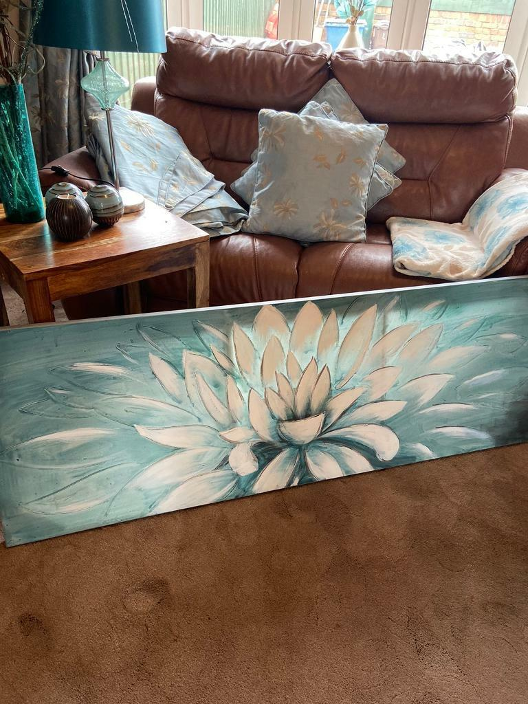 Duck Egg Blue Dunelm Living Room
