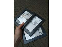Three Ikea Fiskbo picture frames 15cm by 10cm central London bargain