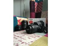 Canon 100D with lenses