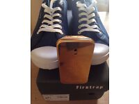 Brand New In Box Size 10 Firetrap Demin Trainers & Paco Rabanne One Million Aftershave