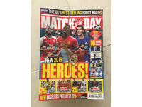 Back issues of BBC Match of the Day magazine