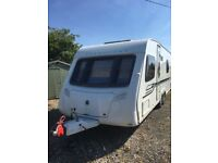 Bessacarr cameo 625 new like condition inside and out 2010