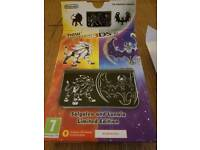 Nintendo 3DS XL Solgaleo and Lunala Limited Edition.