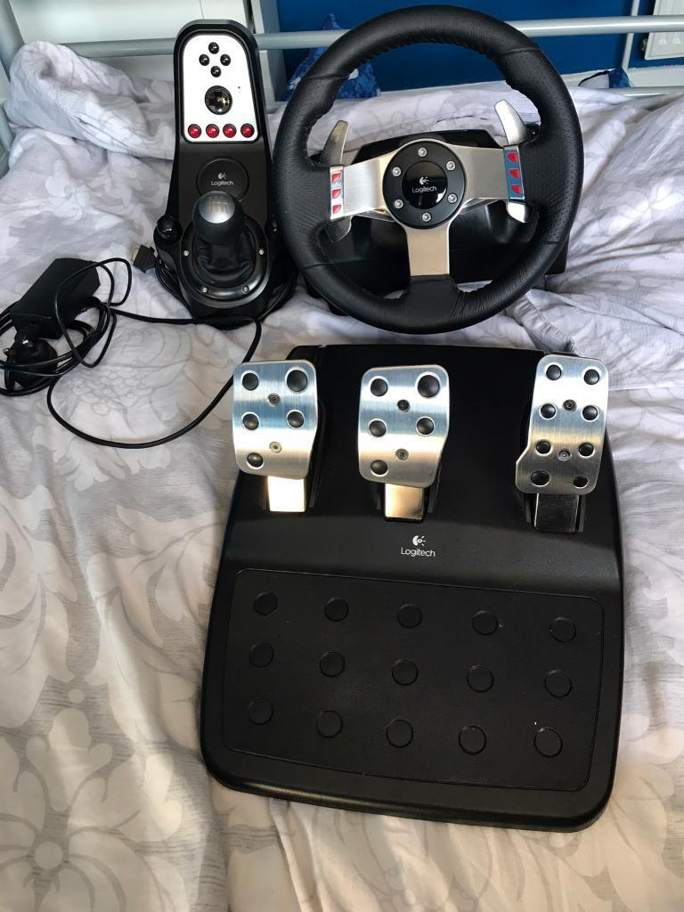 Logitech G27 Racing Usb Wheel And Set For Pc Price Is