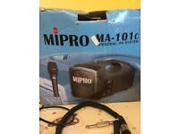 Mipro Ma-101c personal PA system