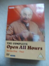 OPEN ALL HOURS COMPLETE DVD BOX SET SERIES 1-4 NEW STILL SEALED