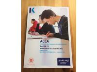 ACCA F2 Kaplan Publishing Complete Text