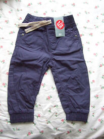 Tu Cotton Trousers (Age: 1-1 1/2yrs / Height: 80-86cm) as new with tags