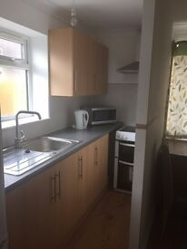 Double room with inbuilt kitchen and a separate bathroom