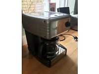 Dualit coffee machine, classic stainless steel design