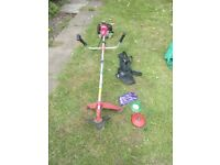 Petrol strimmer brush cutter tools good condition