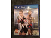 UFC 2 Playstation 4 Ps4 Like New