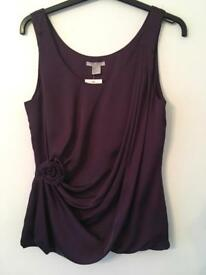 Evening Top Size 10 - New