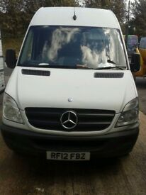 MERCEDES SPRINTER VAN LONG WHEELBASE DIESEL LONG MOT