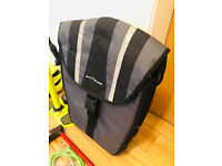 Bike pannier and coiled lock with code for sale