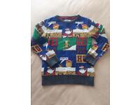 Next Christmas jumper age 5 years