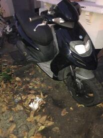 Piaggio typhoon 125cc 2012 QUICK SALE NEED GONE not vespa gilera honda