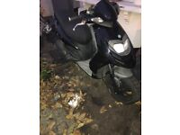 Piaggio typhoon 125cc 2012 QUICK SALE NEED GONE not vespa gilera honda