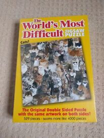 World's Most Difficult Jigsaw Puzzle - Cats