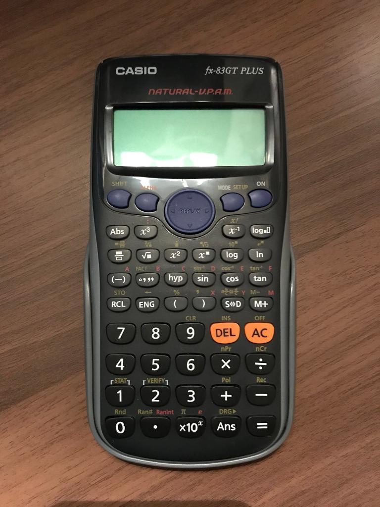 CASIO SCIENTIFIC CALCULATOR - fx-83GT PLUS