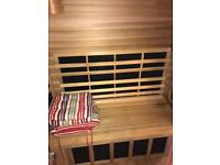 Three person infrared sauna
