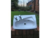 Cloakroom Wash Hand Basin by Shires