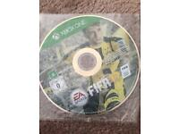 Fifa 17 xbox one game disc only
