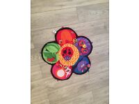 Lamaze tummy time Matt and spinning lady bird excellent condition used one