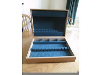 Robert Welch Solid Oak Empty Cutlery Canteen in Perfect Condition